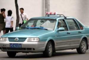 shanghai taxi driver