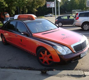 Maybach in Moscow